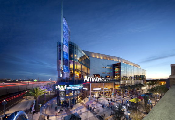 Amway Center, Orlando Magic, Location: Orland FL, Architect: Populous, Client: Nanawall,